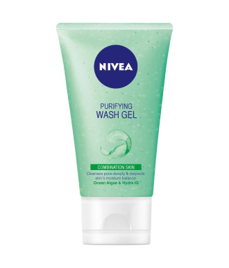 НИВЕА Измивен гел за комбинирана кожа 150мл   NIVEA Purifying wash gel for combination skin 150ml
