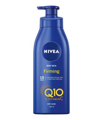 НИВЕА Q10+ ФИРМИНГ Стягащо мляко за тяло 400мл | NIVEA Q10+ FIRMING Body milk 400ml