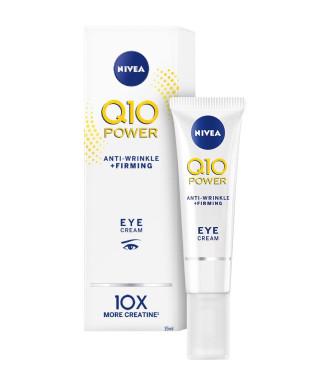 НИВЕА Q10+ ПАУЪР Околоочен крем против бръчки 15мл | NIVEA Q10+ POWER Anti-wrinkle eye care 15ml