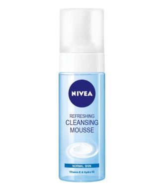 НИВЕА Освежаваща почистваща пяна за лице, нормална кожа 150мл | NIVEA Refreshing cleansing mousse for normal skin 150ml
