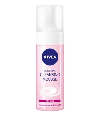 НИВЕА Успокояваща почистваща пяна за лице, суха кожа 150мл | NIVEA Soothing cleansing mousse for dry skin 150ml