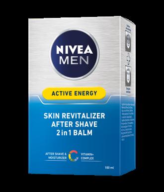 НИВЕА МЕН АКТИВ ЕНЕРДЖИ Лосион за след бръснене 100мл | NIVEA MEN ACTIVE ENERGY After shave splash 100ml