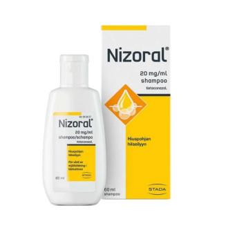 НИЗОРАЛ 2% лечебен шампоан 60мл.   NIZORAL 2% shampoo 60ml