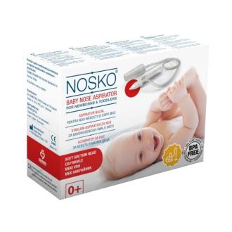 Аспиратор за нос за прахосмукачка с мек накрайник НОСКО | Nasal-vacuum aspirator with soft tip NOSKO