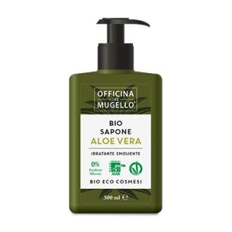 ОФИЦИНА ДЕЛ МУДЖЕЛО БИО Течен сапун с Алое вера 300мл | OFFICINA DEL MUGELLO BIO Liquid soap with Aloe vera 300ml