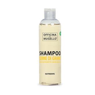 ОФИЦИНА ДЕЛ МУДЖЕЛО Подхранващ шампоан за коса с Пшеничен зародиш 250мл | OFFICINA DEL MUGELLO BIO Nourishing shampoo with Wheat germs 250ml