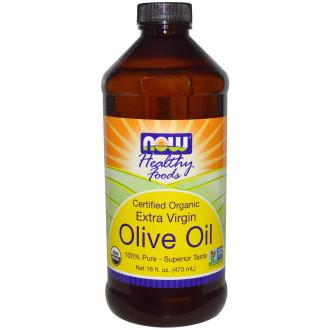 ЗЕХТИН ОРГАНИК ЕКСТРА ВЪРДЖИН масло 475мл НАУ ФУУДС | OLIVE OIL ORGANIC EXTRA VIRGIN oil 475ml NOW FOODS