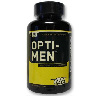 ОПТИ МЕН таблетки 90 бр. ОПТИМУМ НУТРИШЪН | OPTI MEN tabs 90s OPTIMUM NUTRITION