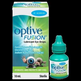 ОПТИВ ФЮЖЪН капки за очи, разтвор 10мл | OPTIVE FUSION eye drops, solution 10ml