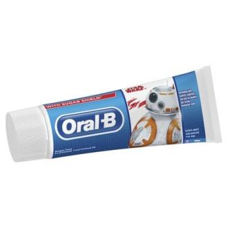 ОРАЛ-Б Паста за зъби 6+ МЕЖДУЗВЕЗДНИ ВОЙНИ 75мл. | ORAL-B Toothpaste 6+ STAR WARS 75ml