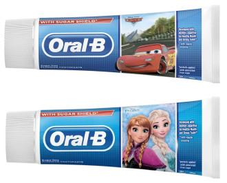 ОРАЛ-Б Паста за зъби 3+ КОЛИТЕ / ЗАМРЪЗНАЛОТО КРАЛСТВО 75мл. | ORAL-B Toothpaste 3+ CARS / FROZEN 75ml