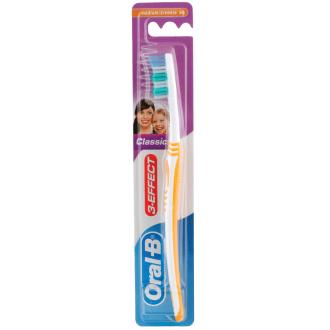 Четка за зъби КЛАСИК 3-ЕФЕКТ медиум ОРАЛ-Б | Toothbrush CLASSIC 3-EFFECT medium ORAL-B