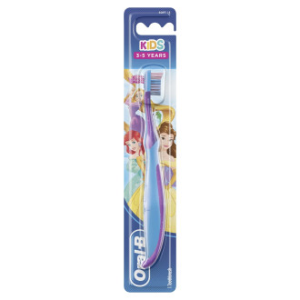 Детска четка за зъби КИДС СТЕЙДЖЕС 2 3-5 години (Принцеси) ОРАЛ-Б | Toothbrush KIDS STAGES 2 3-5 years (Princesses) ORAL-B