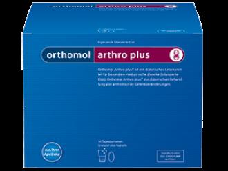 АРТРО ПЛЮС при остеоартрит 30бр. дози ОРТОМОЛ | ARTHRO PLUS 30s doses ORTHOMOL