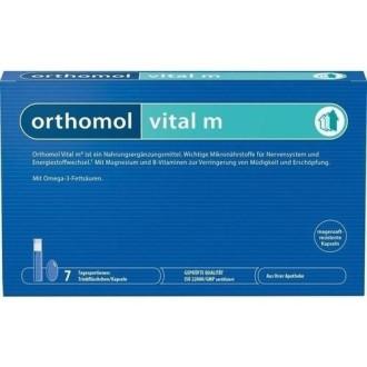 ВИТАЛ M за него 7бр. дози ОРТОМОЛ | VITAL M 7 doses ORTHOMOL