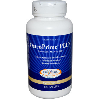 ОСТЕОПРИМ ПЛЮС 390 мг 120 табл. ЕНЗИМАТИК ТЕРАПИ | OSTEOPRIME PLUS 390 mg 120 tabs ENZYMATIC THERAPY