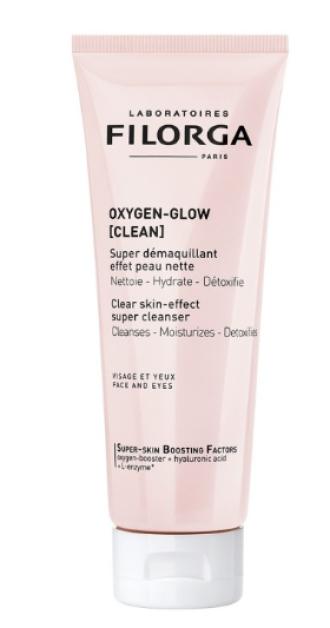 ФИЛОРГА Детоксикиращ почистващ продукт 125мл | FILORGA OXYGEN-GLOW Clear-skin effect super cleanser 125ml