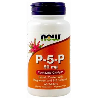 П-5-П 50 мг таб. 60бр НАУ ФУУДС | P-5-P tabs 60s NOW FOODS
