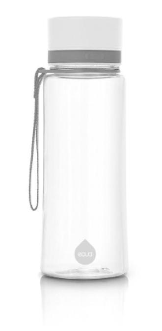 ЕКУА Бутилка без BPA СЕМПЛО БЯЛО 600мл | EQUA Eco bottle BPA free PLAIN WHITE 600ml
