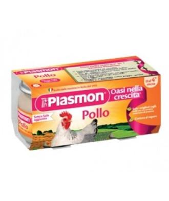 ПЛАЗМОН Пюре Пилешко месо 4+ 2x80гр | PLASMON Pollo 4+ 2x80g