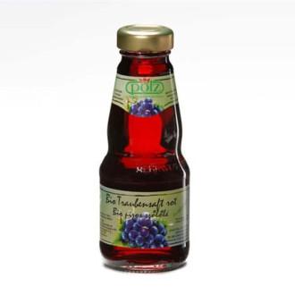 ПОЛЗ БИО 100% Сок Червено грозде 200мл или 1л | POLZ BIO 100% Red grapes juice 200ml or 1l