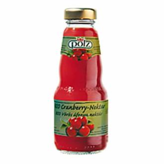 ПОЛЗ БИО Нектар Червена боровинка 200мл | POLZ BIO Cranberry nectar 200ml
