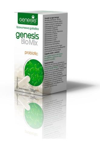 БиоМИКС ПРОБИОТИК 30 раст. капс. ГЕНЕЗИС | BioMIX PROBIOTIC 30 veg caps GENESIS