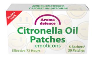 АРОМА ДЕФЕНС ПРОМО ПАКЕТ Лепенки против насекоми с масло от Цитронела 30бр. | AROMA DEFENCE PROMO PACK Insect patches with Citronella oil 30s