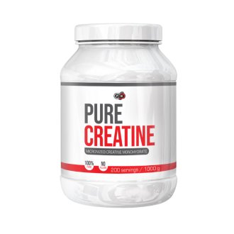 100% ЧИСТ КРЕАТИН прах 1000гр ПЮР НУТРИШЪН | 100% PURE CREATINE pwd 1000g PURE NUTRITION