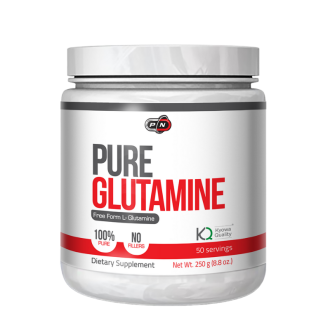 100% ЧИСТ ГЛУТАМИН прах 250гр ПЮР НУТРИШЪН | 100% PURE GLUTAMINE pwd 250g PURE NUTRITION