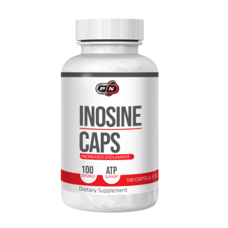 100% ЧИСТ ИНОЗИН 100 капсули 500мг ПЮР НУТРИШЪН | 100% PURE INOSINE 100 caps 500mg PURE NUTRITION