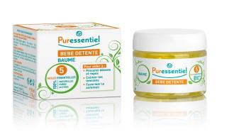 ПЮРЕСЕНШЪЛ Успокояващ бебешки балсам с 5 етерични масла за сън и отмора 50мл | PURESSENTIEL Baby Relax Balm with 5 essential oils 50ml