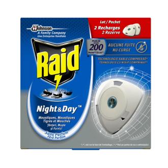 РАЙД ЕЛЕКТРИЧЕСКИ АПАРАТ ДЕН И НОЩ Против мухи и комари   RAID ELECTRIC PLUG DAY AND NIGHT Flies and mosquitos