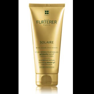 РЕНЕ ФЮРТЕРЕР СОЛАИРЕ Подхранващ душ гел за коса и тяло 200мл | RENE FURTERER SOLAIRE Nourishing shower gel for hair and body 200ml