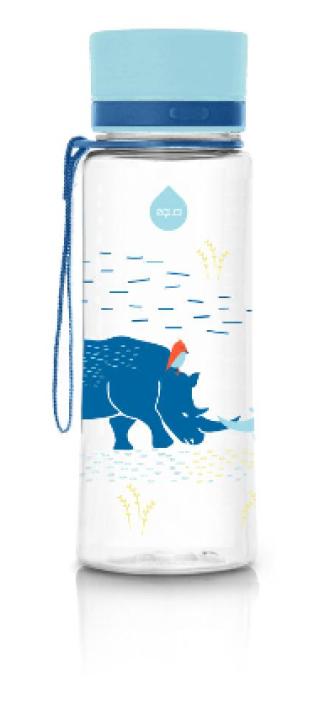 ЕКУА Бутилка без BPA НОСОРОГ BPA free 400мл | EQUA Eco bottle BPA free RHINO 400ml