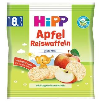 ХИП БИО Оризови гризини с ябълка 8м+ 30гр | HIPP BIO Rice bites with apple 8m+ 30g