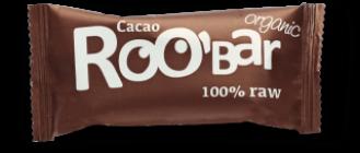 БИО Суров Бар с Какао 50гр РОО'БАР | BIO Raw Bar Cacao 50g ROO'BAR
