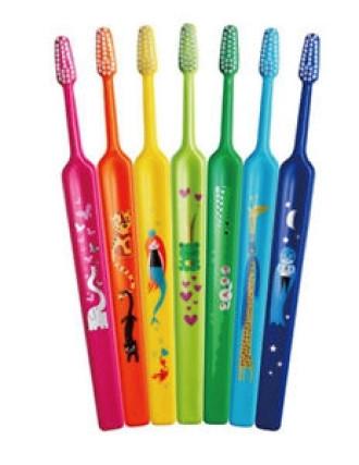 ТЕПЕ Детска четка за зъби ЗОО 3+ софт | TEPE Kids toothbrush ZOO 3+ soft