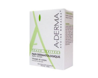 А-ДЕРМА НАТУРАЛНА ГРИЖА Дерматологичен сапун с мляко от овес 100гр | A-DERMA ESSENTIAL CARE Pain dermatologique au lait d'avoine 100gr