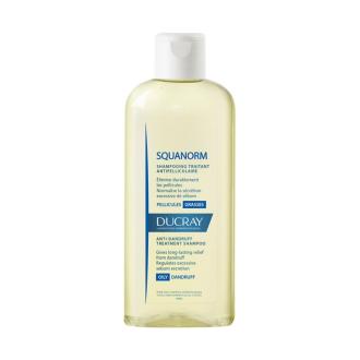 ДЮКРЕ СКВАНОРМ Шампоан против мазен пърхот 200мл | DUCRAY SQUANORM Shampoo oily dandruff 200ml