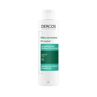 ВИШИ ДЕРКОС СЕБОКОРЕКТОР Шампоан за регулиране на омазняването 200мл | VICHY DERCOS SEBO-CORRECTEUR Shampoo advanced action oily hair 200ml