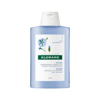 КЛОРАН Шампоан с фибри от лен 400мл | KLORANE Shampoo with flax fiber 400ml