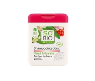СО'БИО Шампоан за коса с Ниаули и Гуарана 250мл | SO'BIO Shampoo with Niaouli and Guarana 250ml