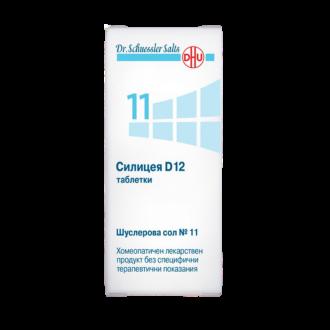 Шуслерови соли НОМЕР 11 Силицея D12 ДХУ | DR. SHUESSLER SALTS N11 D12 DHU