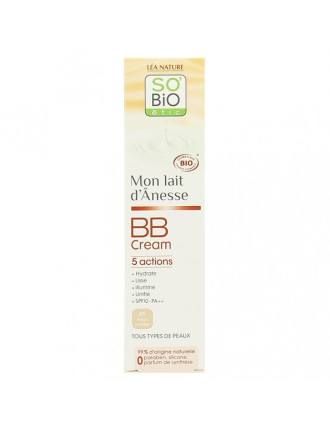СО'БИО ММ BB Крем светъл 40мл | SO'BIO MM BB Cream beige lumiere 40ml