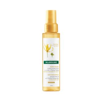 КЛОРАН Защитно олио с восък от Иланг-иланг 100мл | KLORANE Protective oil with Ylang-ylang 100ml
