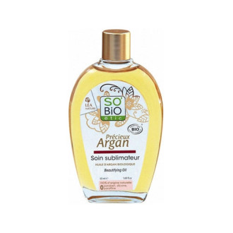 СО'БИО PRECIEUX ARGAN Разкрасяващо масло 50мл | SO'BIO PRECIEUX ARGAN Beautifying oil 50ml