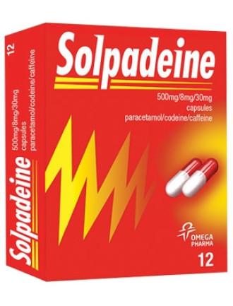 СОЛПАДЕИН капсули 12бр.   SOLPADEINE capsules 12s