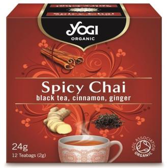 ЙОГИ ОРГАНИК БИО Чай пикантен, пакетчета 12бр | YOGI ORGANIC BIO Tea spicy, teabags 12s