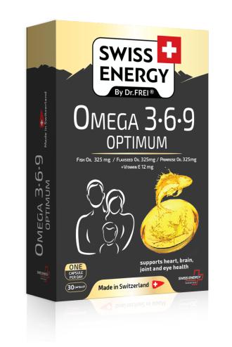 ОМЕГА 3-6-9 ОПТИМУМ 30 капс. СУИС ЕНЕРДЖИ | OMEGA 3-6-9 OPTIMUM 30s caps SWISS ENERGY